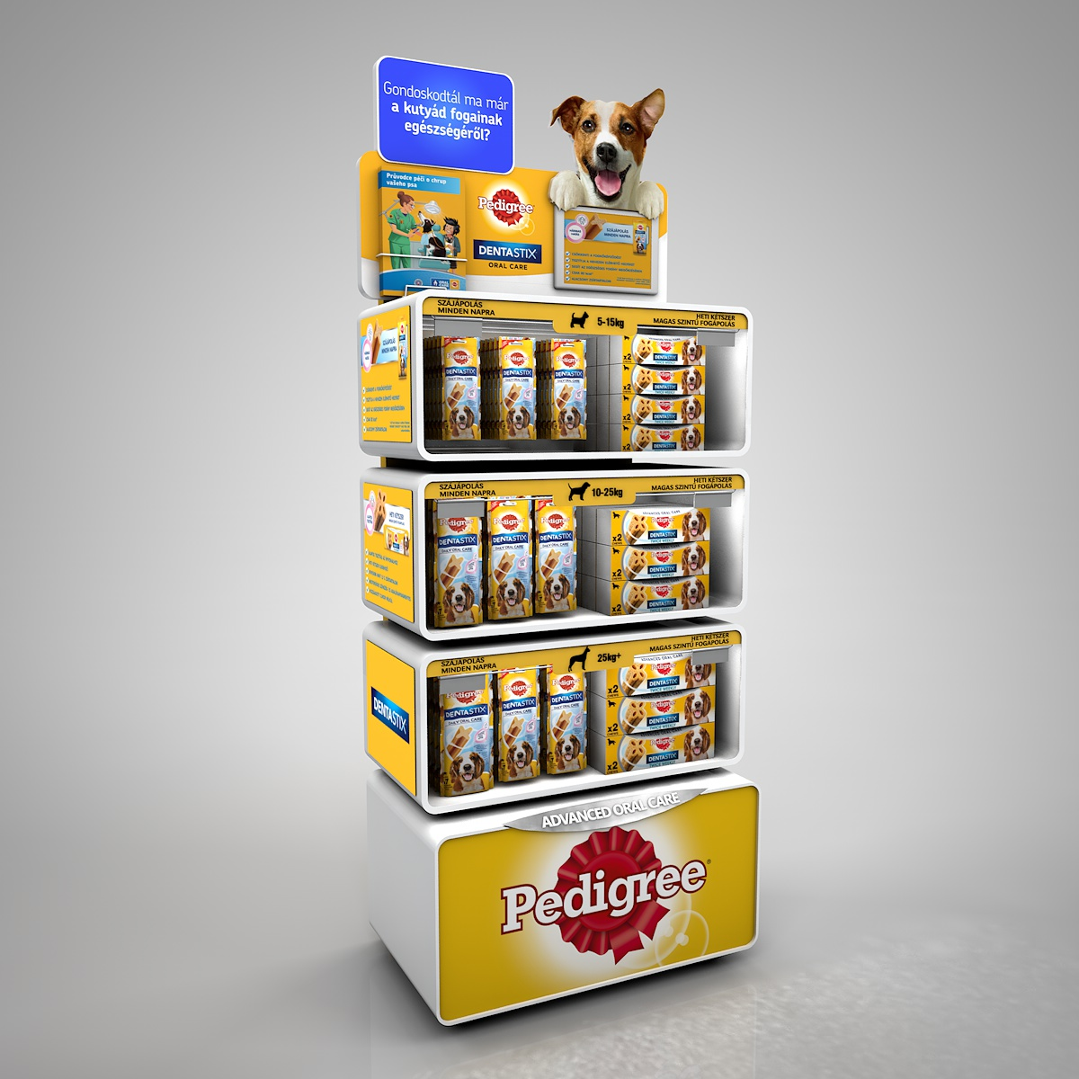 Pedigree LED display
