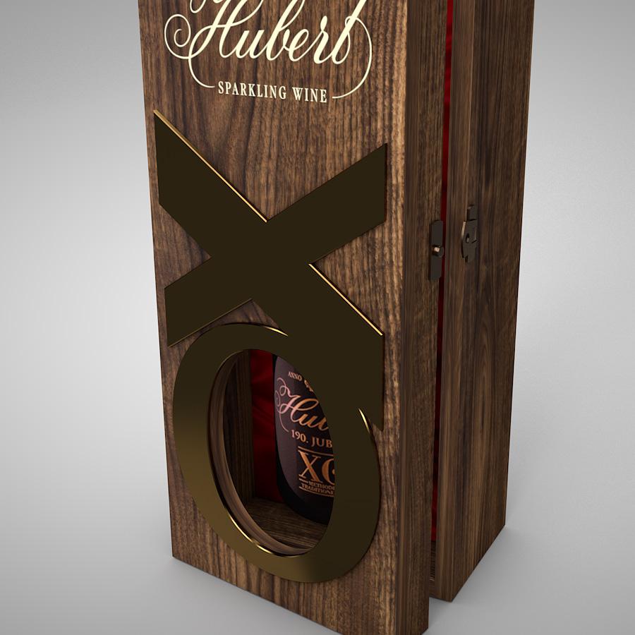 Luxusný darčekový box pre Hubert-XO